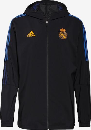 ADIDAS PERFORMANCE Sportjas 'Real Madrid Tiro' in de kleur Blauw / Geel / Zwart, Productweergave