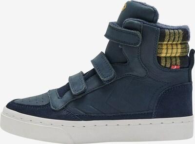 Hummel Sneakers in de kleur Blauw: Vooraanzicht