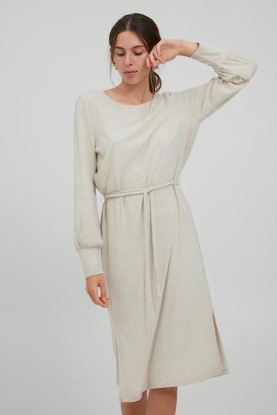 ICHI Maxikleid 'IHKYLA DR' in beige, Modelansicht