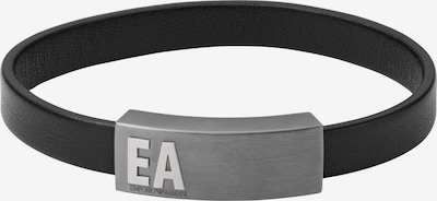 Emporio Armani Armband in grau / schwarz, Produktansicht