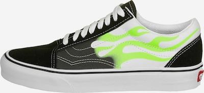 VANS Sneaker in neongrün / weiß: Frontalansicht