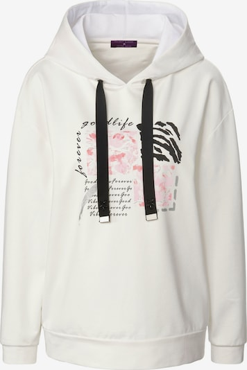 TALBOT RUNHOF X PETER HAHN Sweatshirt cotton in offwhite, Produktansicht