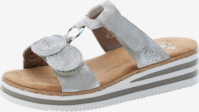 RIEKER Pantolette in silber, Produktansicht