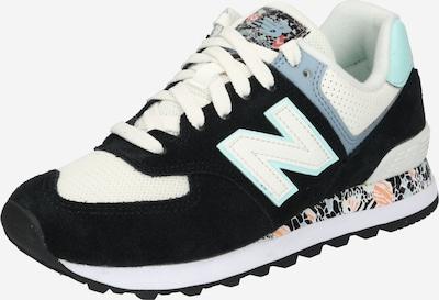 Sneaker bassa '574' new balance di colore turchese / opale / melone / nero / bianco, Visualizzazione prodotti
