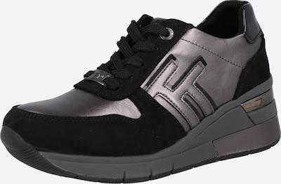 TOM TAILOR Sneakers in Greige / Black, Item view