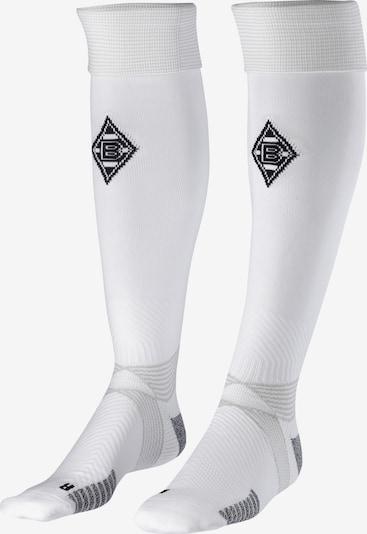 PUMA Stutzen in grau / schwarz / weiß, Produktansicht