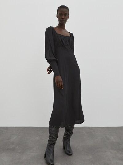 EDITED Kleid 'Sibylla' in schwarz, Modelansicht