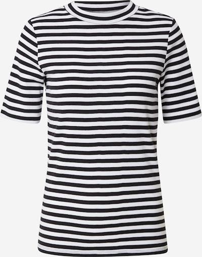 EDC BY ESPRIT Shirt in schwarz / weiß, Produktansicht