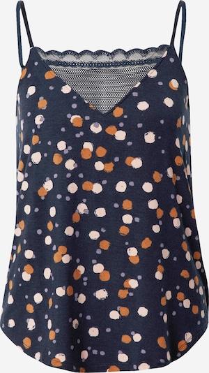 PJ Salvage Slaapshirt 'Chemise' in de kleur Donkerblauw / Gemengde kleuren, Productweergave