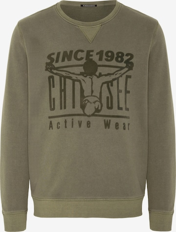 CHIEMSEE Sportsweatshirt i grønn