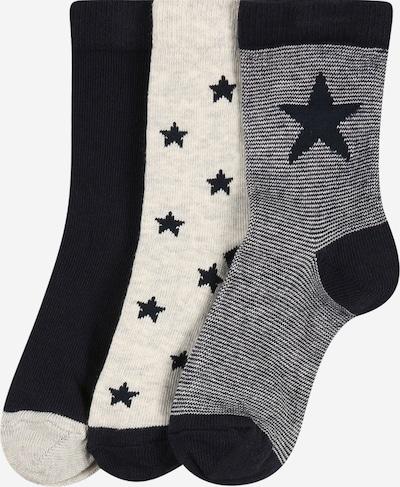 PETIT BATEAU Socken in beige / blau, Produktansicht