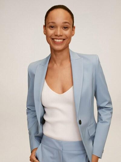 MANGO Blazer in pastellblau, Modelansicht
