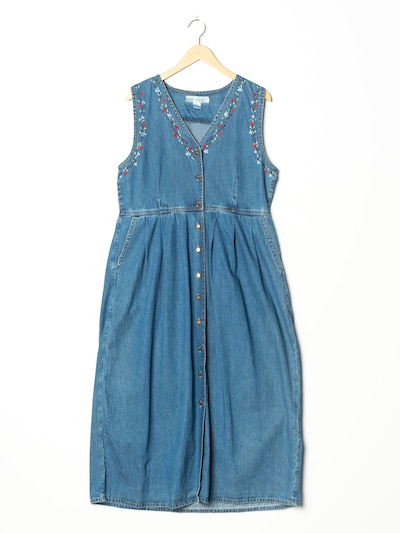Jane Ashley Kleid in L in blue denim, Produktansicht