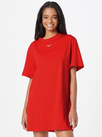 Rochie sport Nike Sportswear pe roșu / alb, Vizualizare model