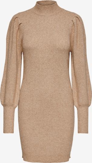 ONLY Gebreide jurk 'Kytia' in de kleur Sand, Productweergave