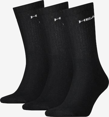 Chaussettes de sport HEAD en noir