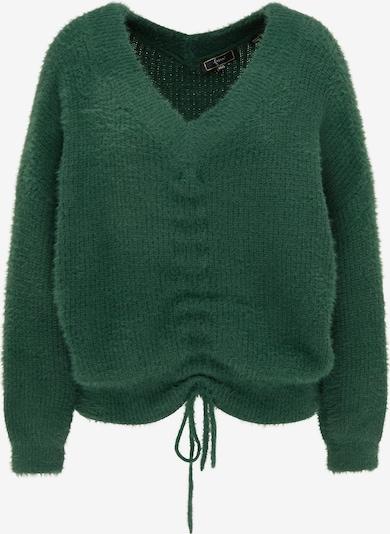 faina Pullover in dunkelgrün, Produktansicht