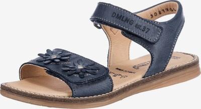 Däumling Sandalen WMS Weite S für schmale Füße für Mädchen in blau, Produktansicht