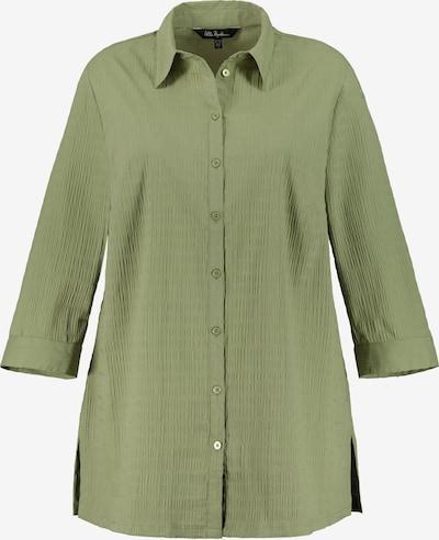 Ulla Popken Bluse in grün, Produktansicht