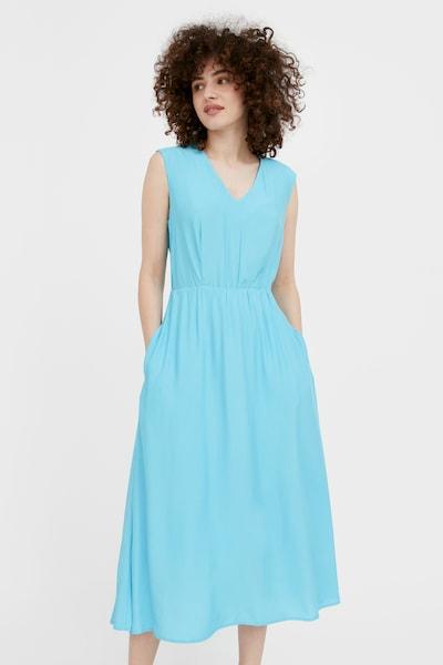 Finn Flare Kleid in türkis, Modelansicht