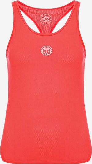 BIDI BADU Tank-Top Rahel mit sportlichem Markenprint in koralle, Produktansicht