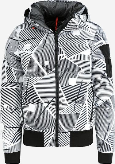 ICEPEAK Sportska jakna 'Europa' u crna / bijela, Pregled proizvoda