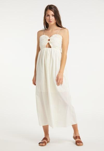 IZIA Kleid in weiß: Frontalansicht