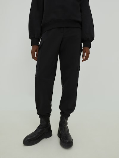 EDITED Trousers 'Reese' in black, View model