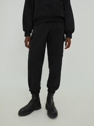 EDITED Hose 'Reese' in schwarz, Modelansicht
