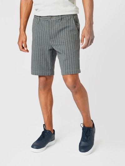 Kronstadt Pantalon 'Hector' en anthracite / blanc, Vue avec modèle
