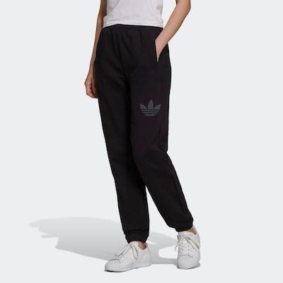 ADIDAS ORIGINALS Pants in Grey / Black, View model