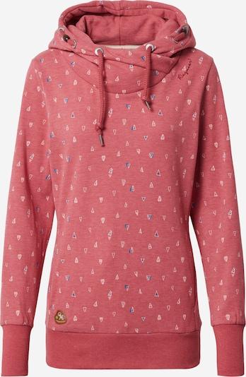 Ragwear Sweat-shirt 'Gripy' en bleu / rouge clair / blanc, Vue avec produit