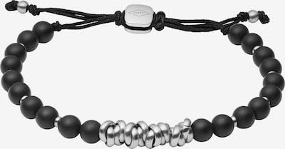 FOSSIL Rannekoru värissä musta / hopea, Tuotenäkymä