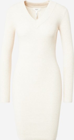 OBJECT Kleid 'Fae Thess' in creme: Frontalansicht
