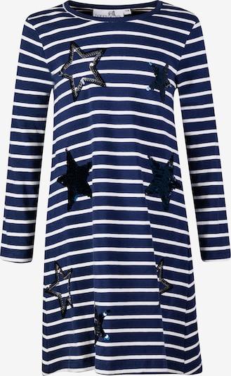 happy girls Haljina u mornarsko plava / srebro / bijela, Pregled proizvoda