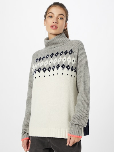 Bogner Fire + Ice Pullover 'DENALI' in navy / grau / weiß, Modelansicht