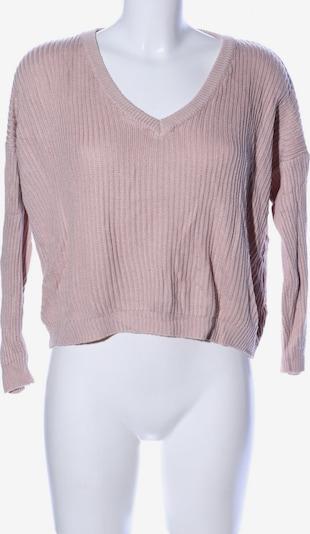 Brandy Melville V-Ausschnitt-Pullover in XS-XL in pink, Produktansicht