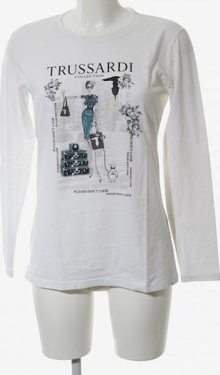 Trussardi Longsleeve in L in schwarz / weiß, Produktansicht