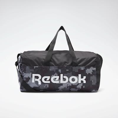 REEBOK Sporttas in de kleur Grijs / Zwart / Wit, Productweergave
