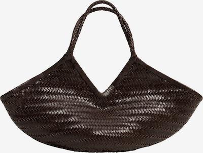 MANGO Handtasche 'Dua' in dunkelbraun, Produktansicht