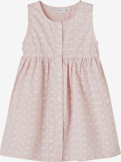 NAME IT Kleid 'HETINA' in rosa / weiß, Produktansicht