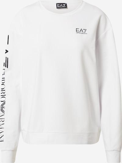 Felpa EA7 Emporio Armani di colore nero / bianco, Visualizzazione prodotti