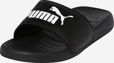 PUMA Badeschuh 'Popcat 20' in schwarz / weiß, Produktansicht