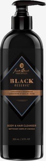 Jack Black Haarshampoo & Duschgel ' Black Reserve Cardamon & Cedarwood' in orange / schwarz, Produktansicht
