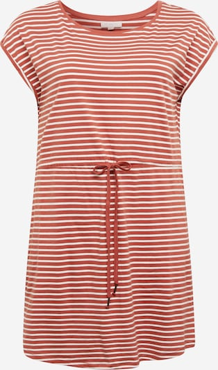 ONLY Carmakoma Sukienka 'April' w kolorze czerwone wino / białym, Podgląd produktu