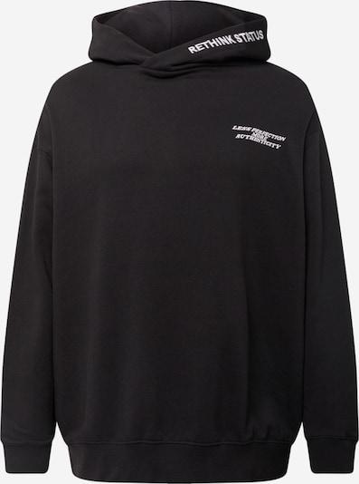 Rethink Status Sweatshirt in Black / White, Item view
