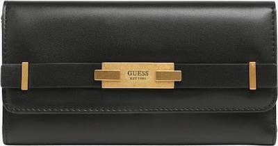 GUESS Portemonnaie 'BEA' in gold / schwarz, Produktansicht