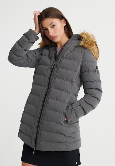 Superdry Płaszcz zimowy 'Extralange Arctic' w kolorze antracytowym, Podgląd na modelu(-ce)