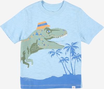 GAP T-Shirt 'JUNE' in blau / hellblau / pastellgrün, Produktansicht