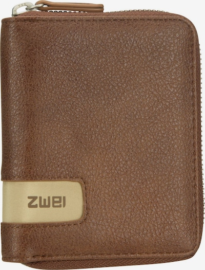 ZWEI Portemonnaie in braun, Produktansicht